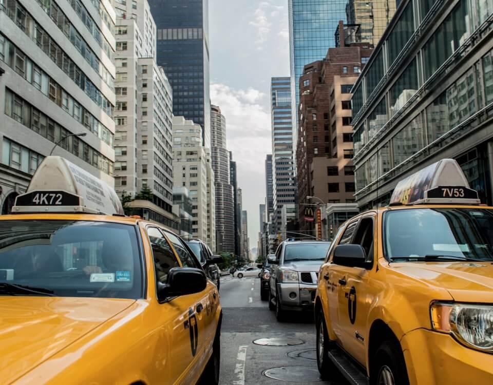 Op vakantie met een taxi