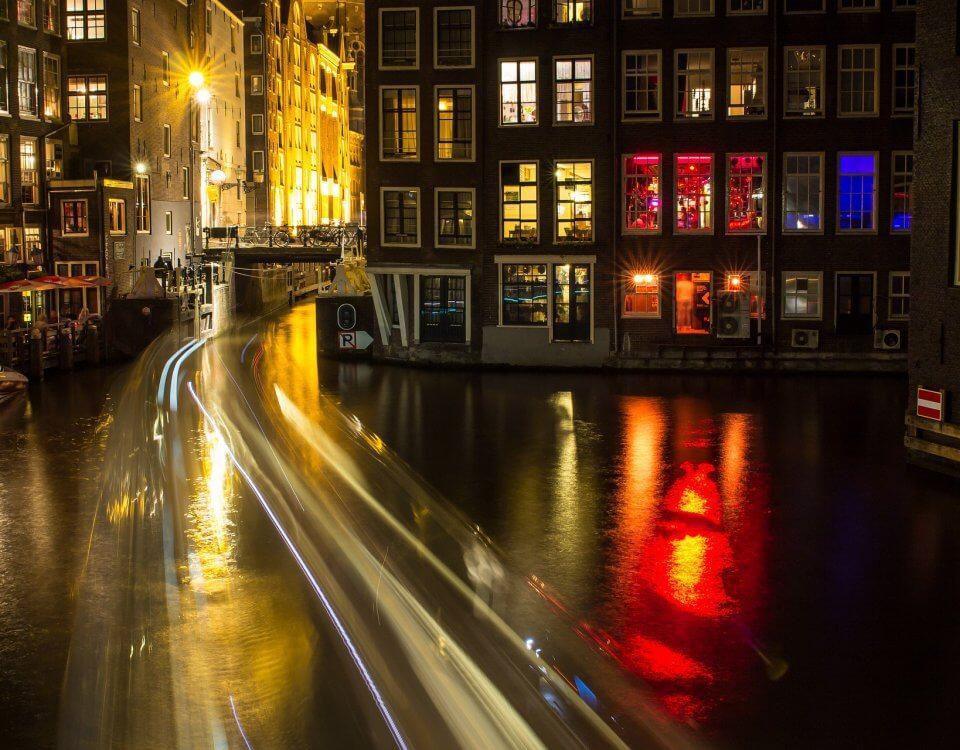 Amsterdam met de taxi